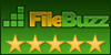 5 stars award from   FileBuzz