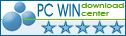 5 stars award from PCWin