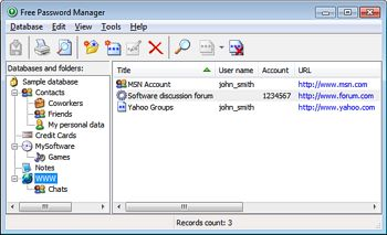 Free Password Manager - Password management software